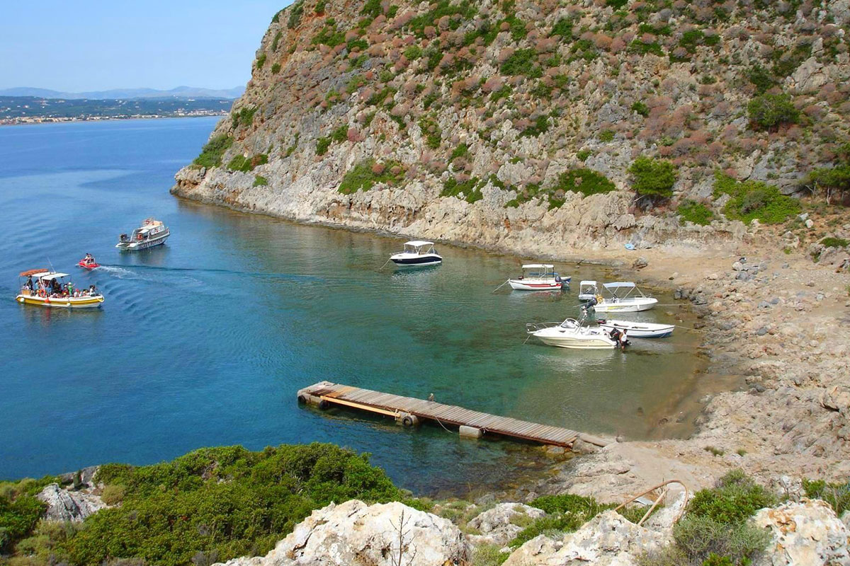 Boat Tour in Chania (Thodorou Island) with Sea Breeze Cruises